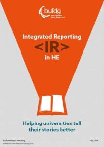 IR Report Cover